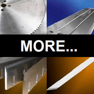 machine knives for different industries